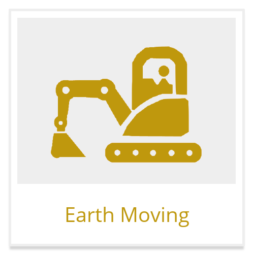 earth moving construction equipment rental