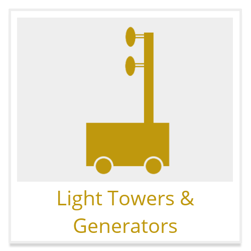 light towers and generators construction equipment rental
